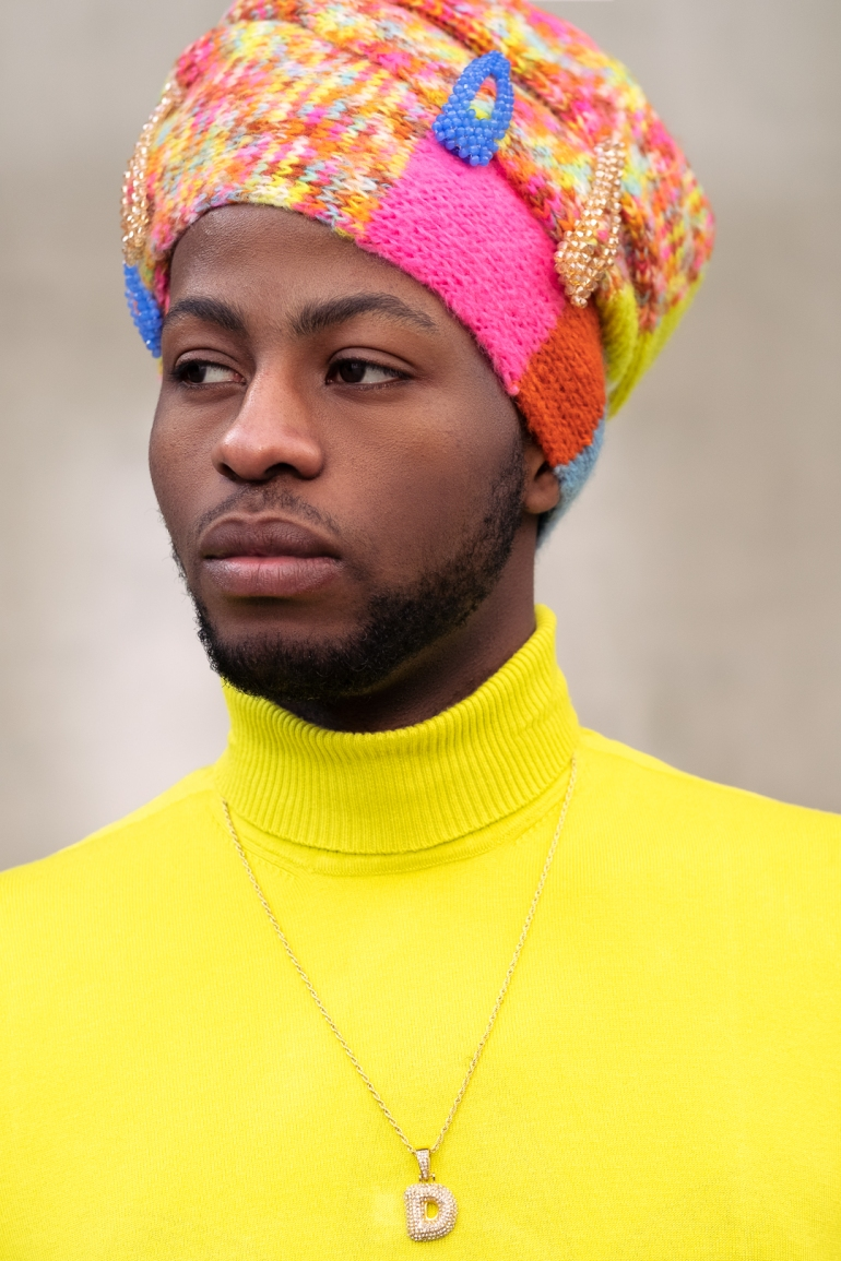 black male headwrap model--3