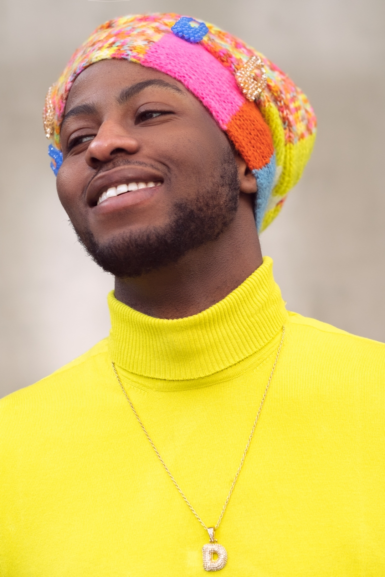 black male headwrap model--4